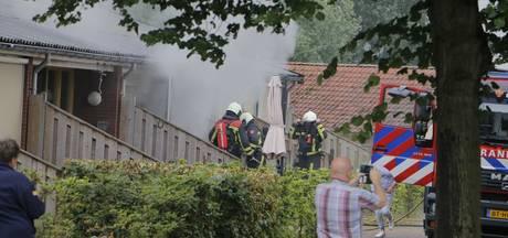 Brand bij zorginstelling Rohaan in Markelo