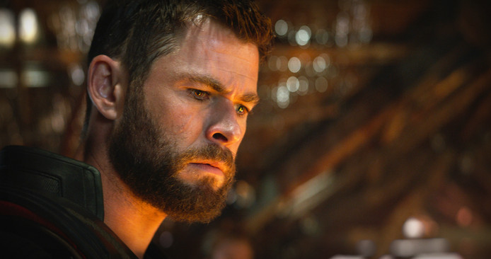 Thor (Chris Hemsworth) in Avengers: Endgame.