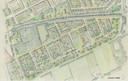Het schetsplan van Landgoed Hooghekke in Schijndel, waar volgens plannen van Vermulst plaats ingeruimd wordt voor 250 tot 300 woningen. Stal Vermulst kijkt uit naar een andere, grotere locatie.