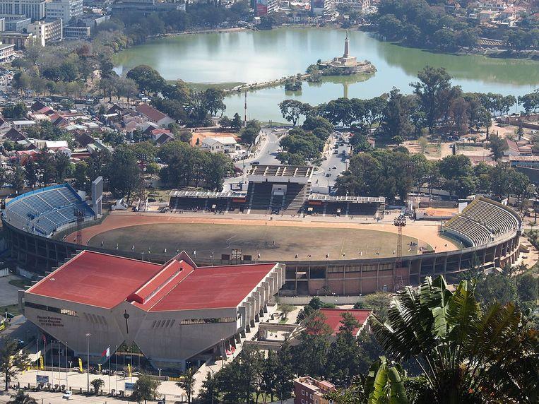 Bij gedrang voor een voetbalmatch aan de ingang van het Mahamasinastadion in de hoofdstad van Madagaskar vielen één dode en 37 gewonden.