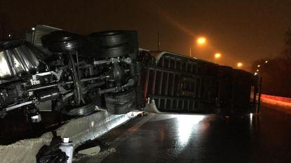Zwaar ongeval met drie trucks op A12: slechts lichtgewonden