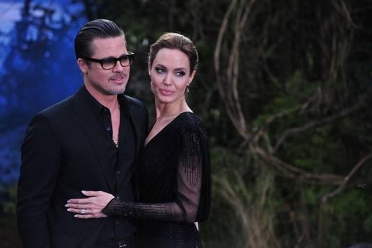 Brad Pitt en Angelina Jolie.