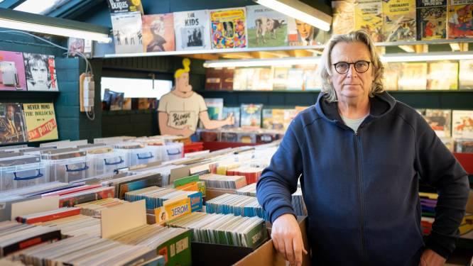 De schat van Beerzel opent de deuren: nieuwe winkel met oude strips en vinylplaten aan de Mechelbaan