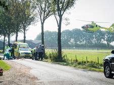 Man zwaargewond bij ongeval in Cothen