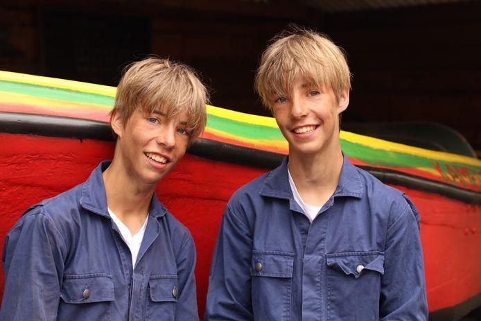 Sens en Imme Gerritsen uit Utrecht spelen de beroemde Friese tweeling Hielke en Sietse in de nieuwe Kameleon-film
