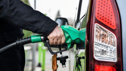Benzine aan de pomp vanaf vrijdag enkele centen duurder