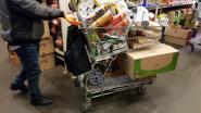 Nog meer dan voldoende stock, toch vrezen supermarkten ook morgen stormloop