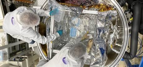 Le Centre Spatial de Liège étudie une méthode de décontamination des masques par le vide