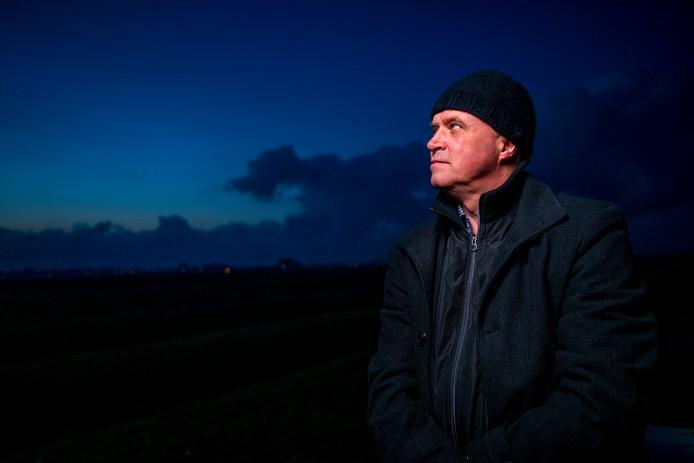 Erwin Noorman uit Meppel heeft een fascinatie voor UFO's en sterrenkunde.