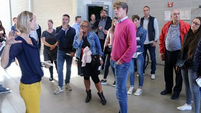 De Mixx verwelkomt delegatie van Waals sportinstituut