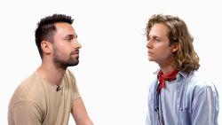 """""""Die zou ik zo wegswipen"""": welk vooroordeel hebben deze mannen over elkaar ?"""