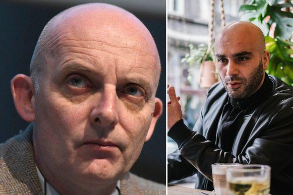 Philippe Vansteenkiste en Mohamed El Bachiri