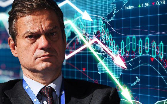 Voorzitter Lorenzo Bini Smaghi van de Franse bank Société Générale vergelijkt een harde Brexit met de val van zakenbank Lehman Brothers.