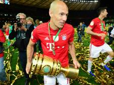 Robben begon ook laatste Bayern-duel als bankzitter: 'Geprobeerd er een mooie invalbeurt van te maken'