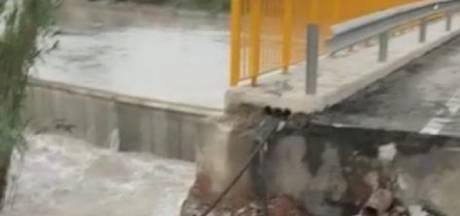 Nederlander vermist in Spanje: meegesleurd bij overstromingen