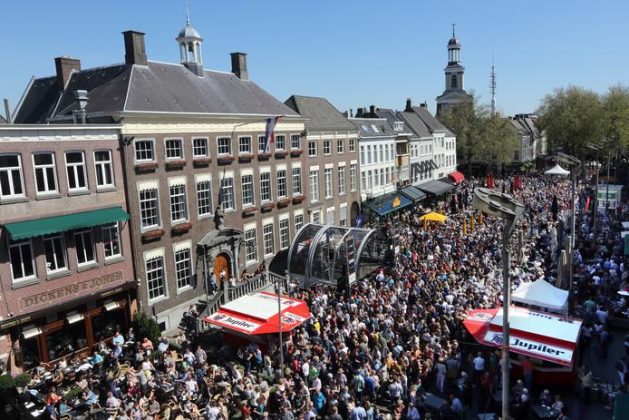 Het Jazz Festival Breda trok vorig jaar tienduizenden bezoekers, mede dankzij het goede weer.