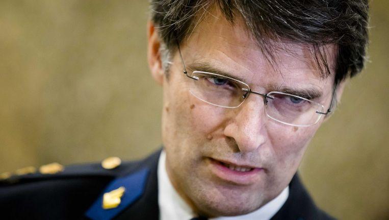 Korpschef van de Nationale Politie Erik Akerboom. Beeld anp
