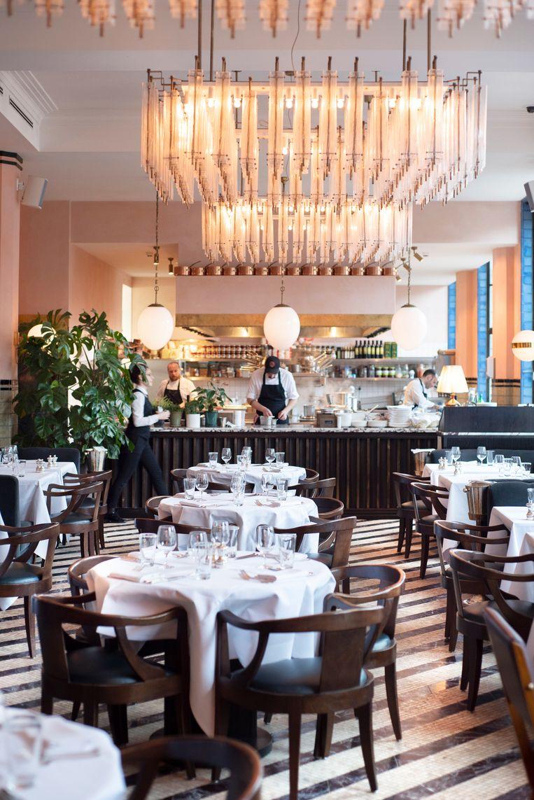 Restaurant Cecconi S In Het Chique Soho House Heeft Een