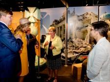 Willem-Alexander en Máxima schrikken van Christchurch