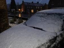 Sneeuwval: delen van Limburg kleuren kortstondig wit