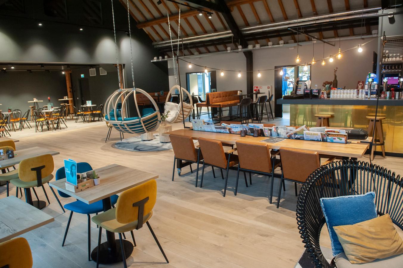 Het cultuur café in De Voorste Venne in Drunen.
