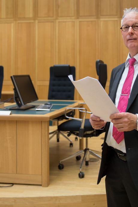 Markante bode rechtbank met pensioen: 'Af en toe moest ik mijn emoties wegslikken'