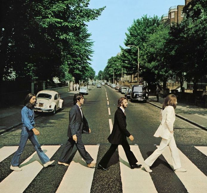 Abbey Road van The Beatles