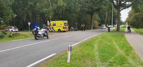 Ongeluk met twee motors in Hellendoorn