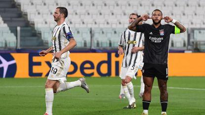 LIVE. Juventus in de problemen: Depay brengt Lyon op voorsprong met subtiele panenka