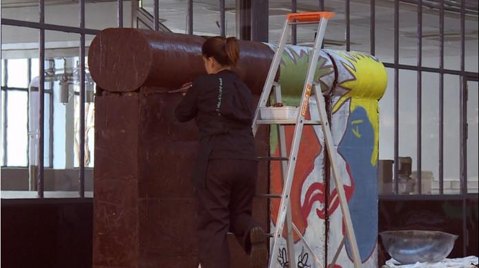 Le mur en chocolat de Patrick Roger