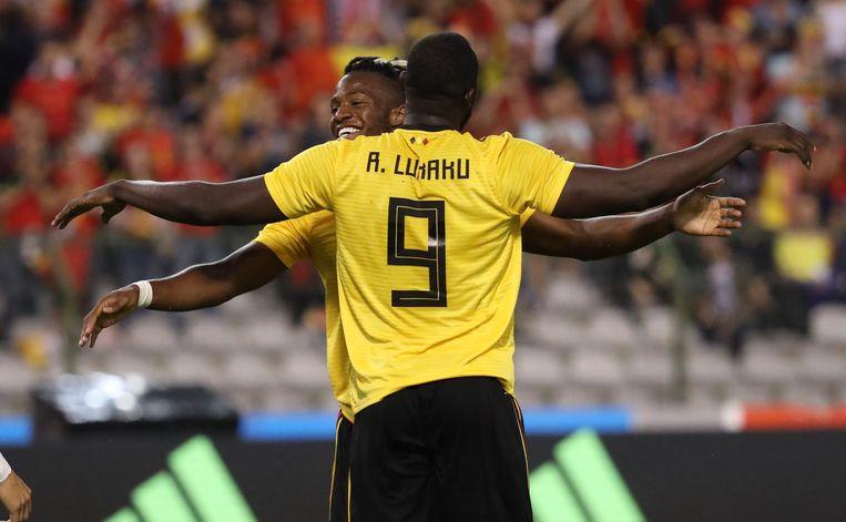 Batshuayi scoorde de 4-1 en vierde die treffer met Lukaku, die voor de assist had gezorgd.