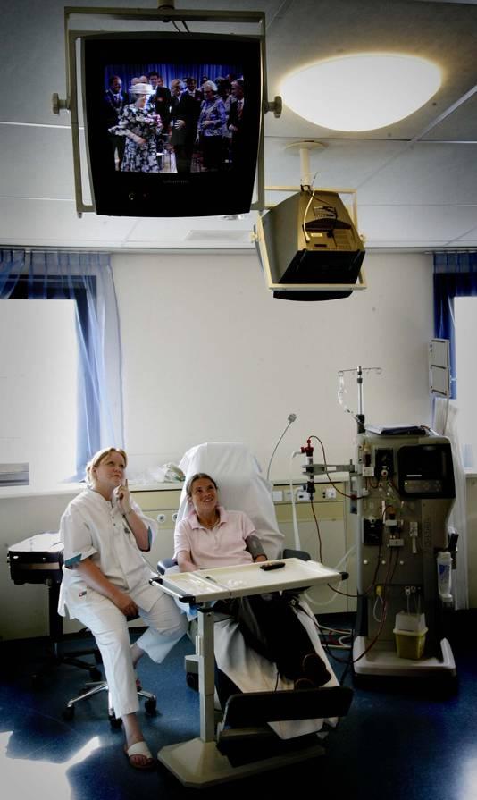 Foto uit het Amphia Ziekenhuis. Dit zijn niet de mensen uit het verhaal over de ontslagen verpleegster.