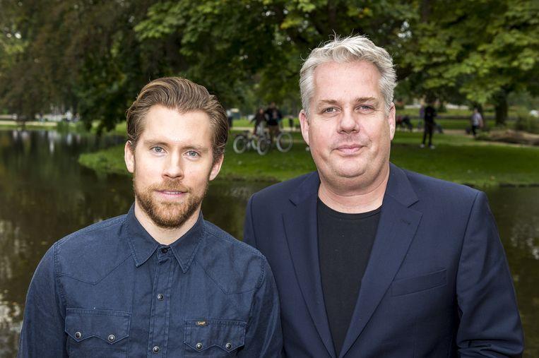 Tim Haars en Thomas Acda Beeld anp