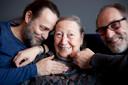 Hugo Borst (links), ma en Laurens Borst