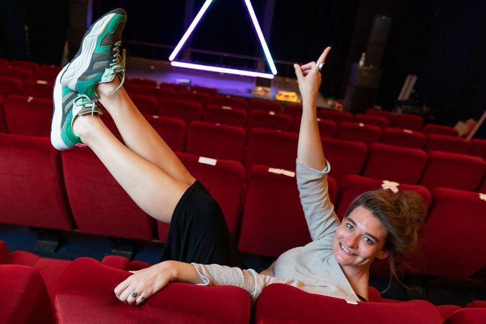 Kirsten van Teijn is tot en met 15 augustus te zien in Theater aan de Parade. Foto Marc Bolsius