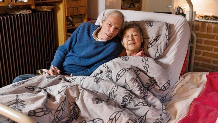 Tine Visser en haar man Tjalling