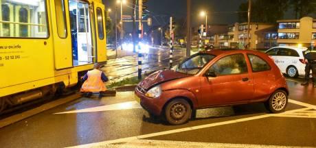 Tramverkeer plat door ongeval bij Jaarbeursplein