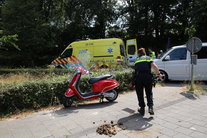 De politie heeft de poep verwijderd.