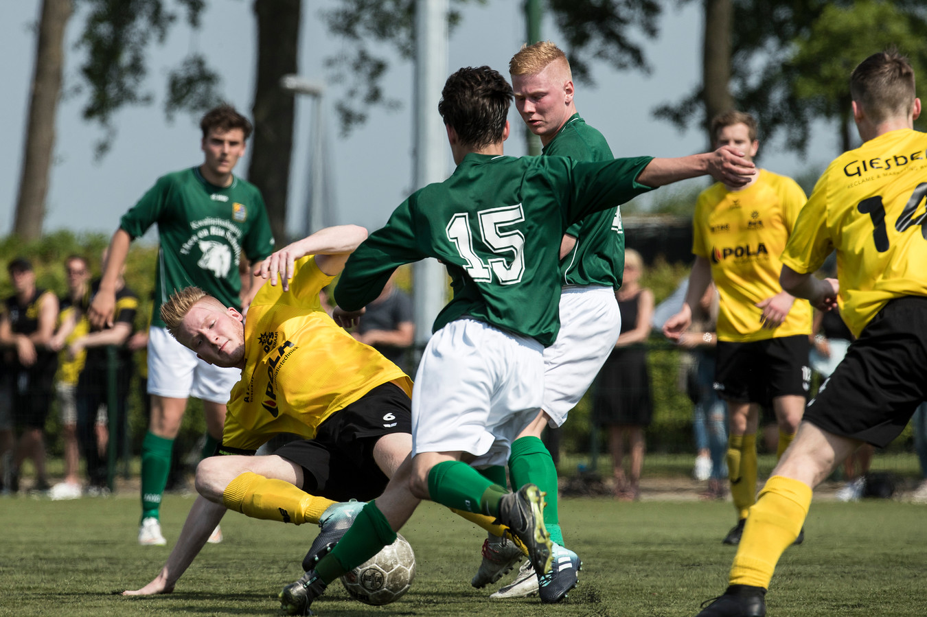 Groessen speelt zondag de finale tegen Babberich op sportpark De Buitenboom.