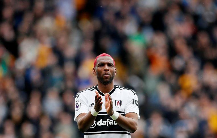 Ryan Babel tijdens een van zijn laatste wedstrijden voor FC Fulham.