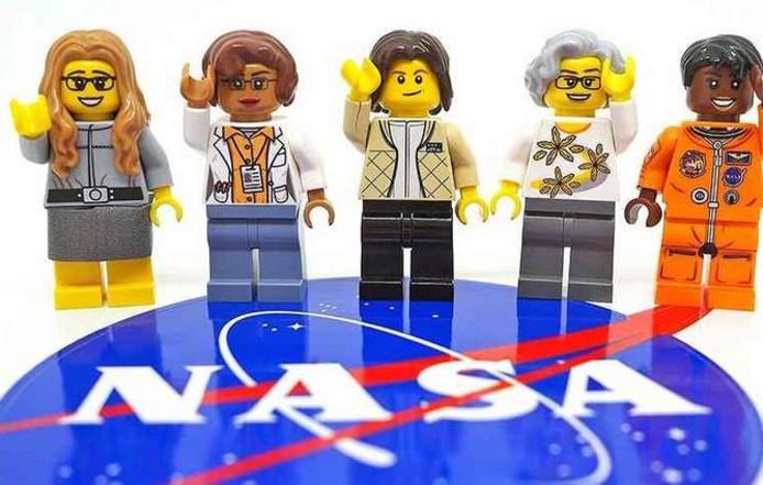 Lego brengt de vrouwelijke NASA-poppetjes eind dit jaar of begin 2018 op de markt.