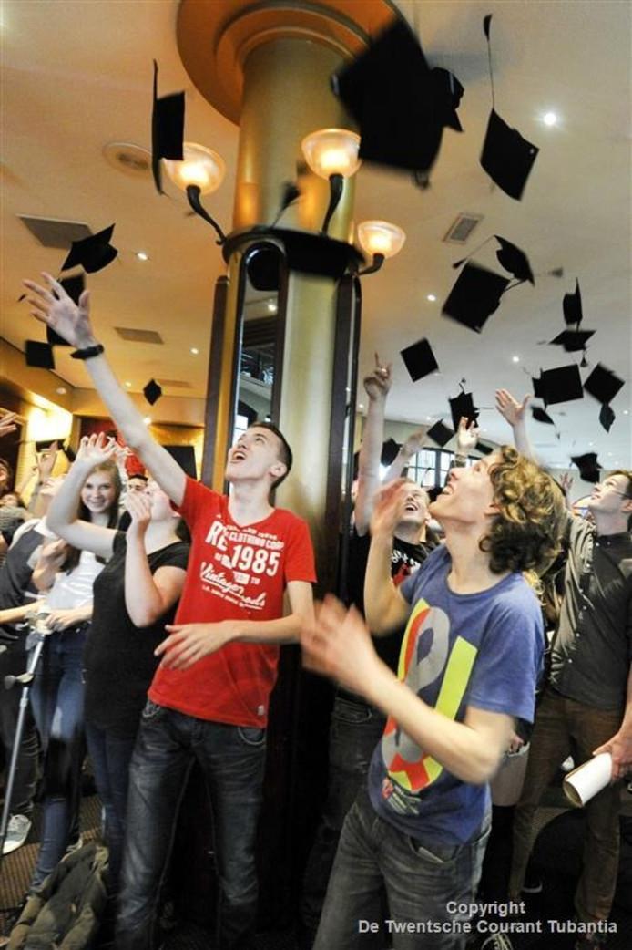 Graduation Party in het Theaterhotel in Almelo