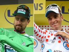 Record voor Sagan met zevenmaal groen, Bardet vindt troost in bergtrui