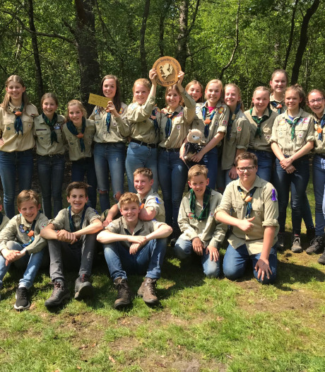 Cunera St. Marcellinus wint regionale scoutingwedstrijden in Beckum