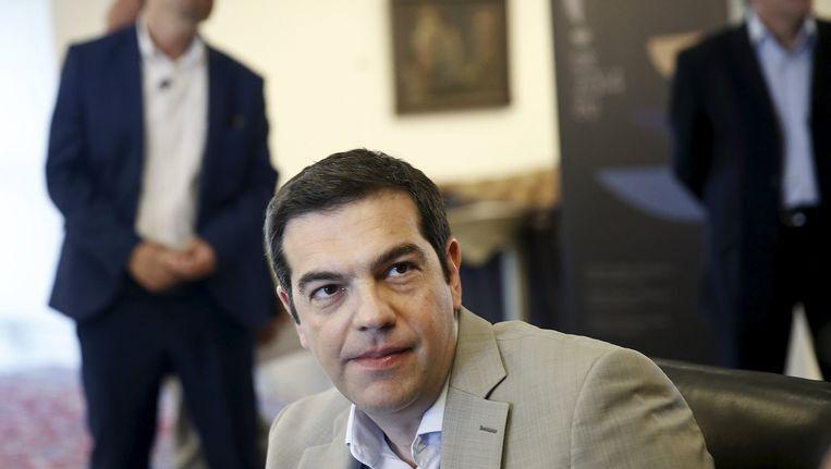 De Griekse premier Tsipras wordt vanavond in Brussel verwacht voor een cruciale ontmoeting met Commissievoorzitter Jean-Claude Juncker.