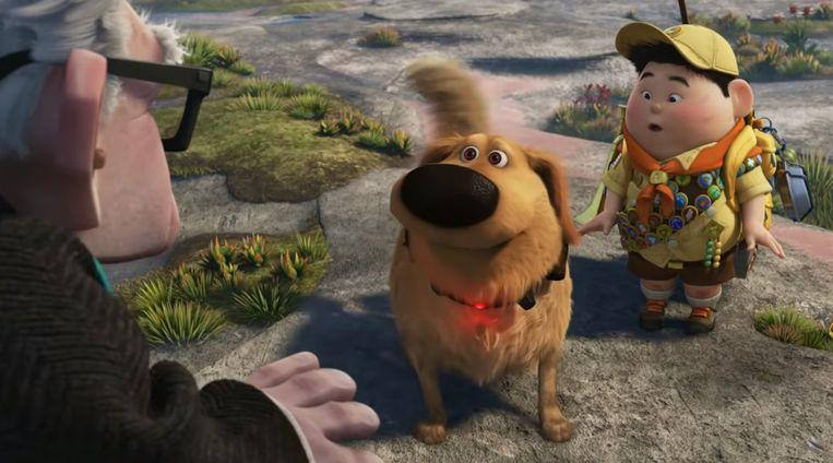 Doug uit 'Up' Beeld Pixar