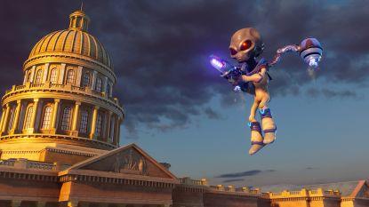 GAMEREVIEW. Op nostalgie alleen bouw je geen topgame: remake van 'Destroy All Humans' is wisselend succes