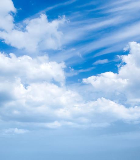 Vrijdag nóg warmer maar wel met wolkenvelden