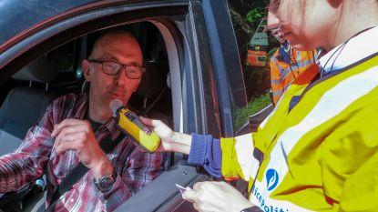 Zes chauffeurs betrapt op dronken rijden