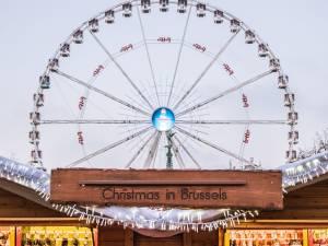 Une grande roue place Poelaert